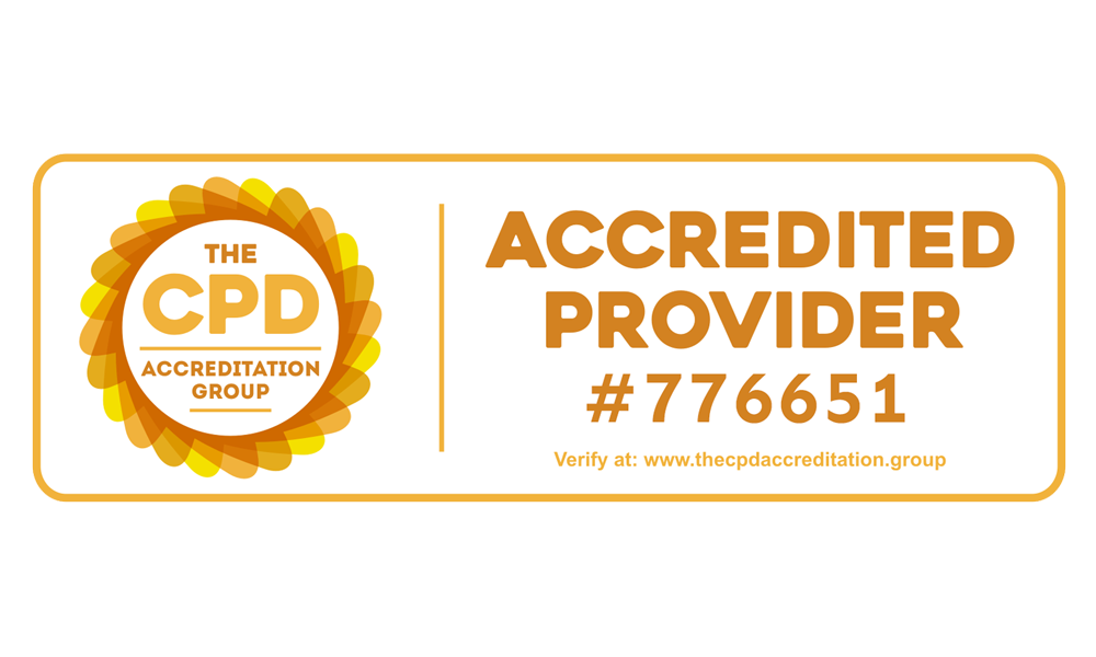 CPD Accredited - #776651